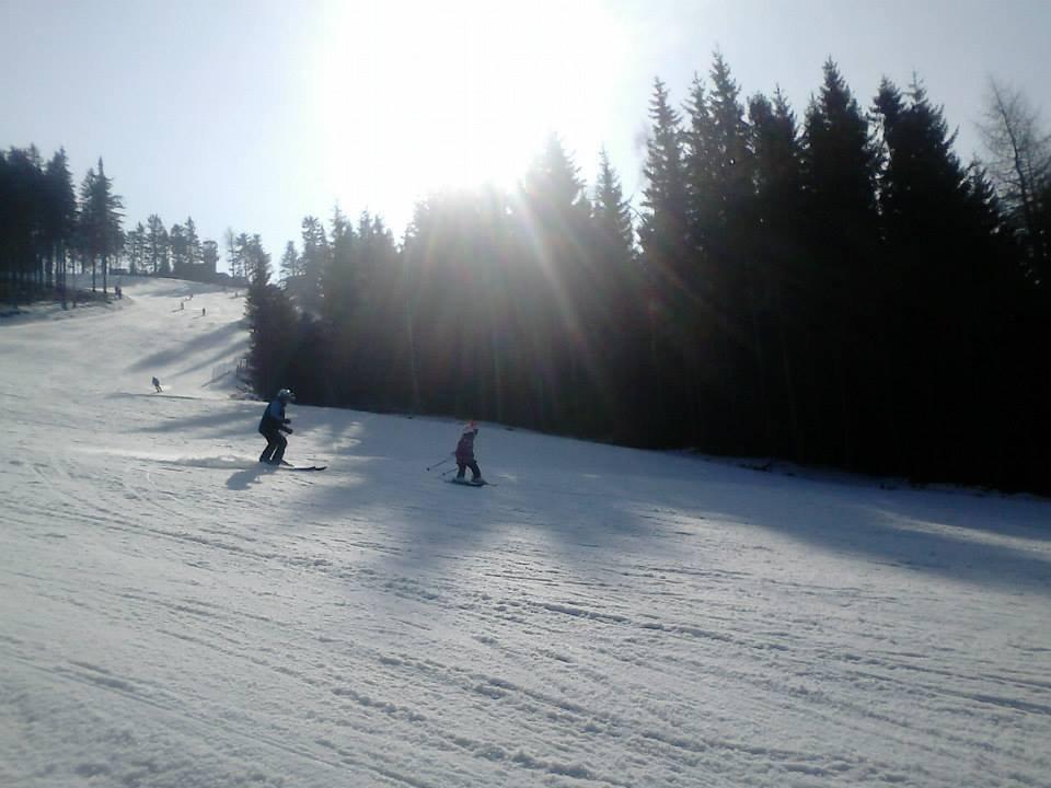 Plešivec 27.2.2014 - ©Skiareál Plešivec FB