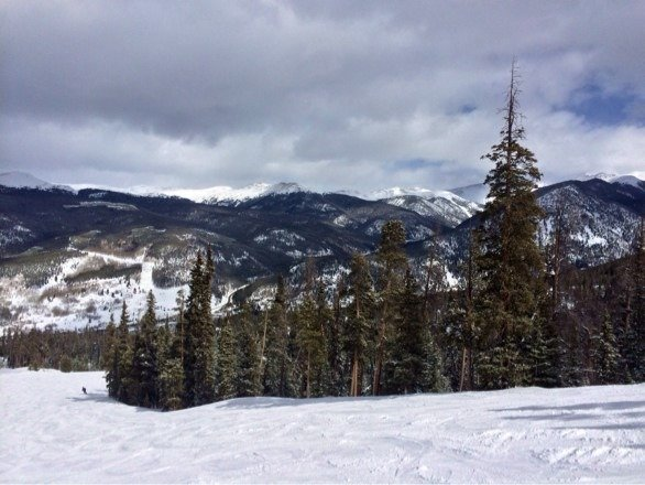 Fantastic skiing at Keystone today!