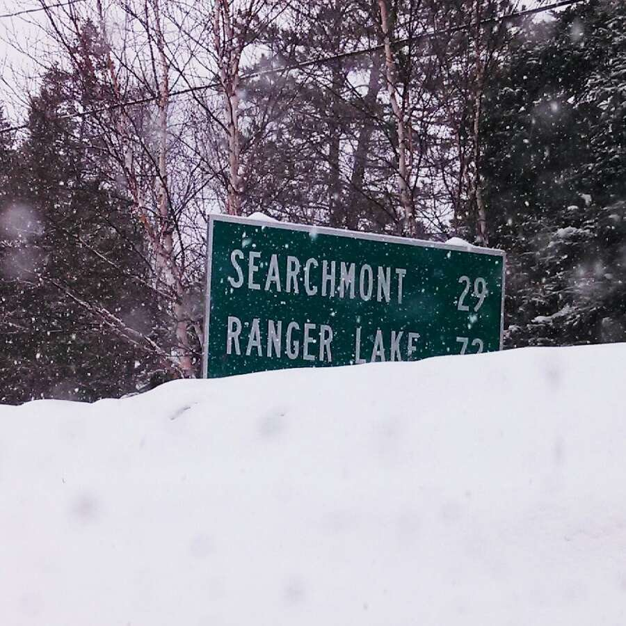 Another foot and Searchmont is buried! Got Snow! Yeehaww!