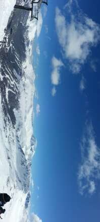 Atleast shin-high Fresh pow all day all over the mountain! Bluebird sky-no wind, perfect!!