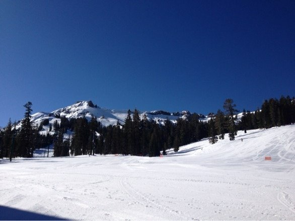 Spectacular day.  First time to Kirkwood.  What a great mountain!