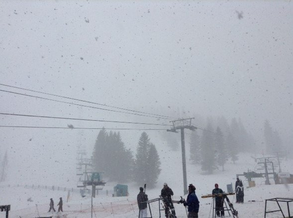 Some great snow fell today with more to come tonight! Definitely worth going snow is great right now. It's powder!
