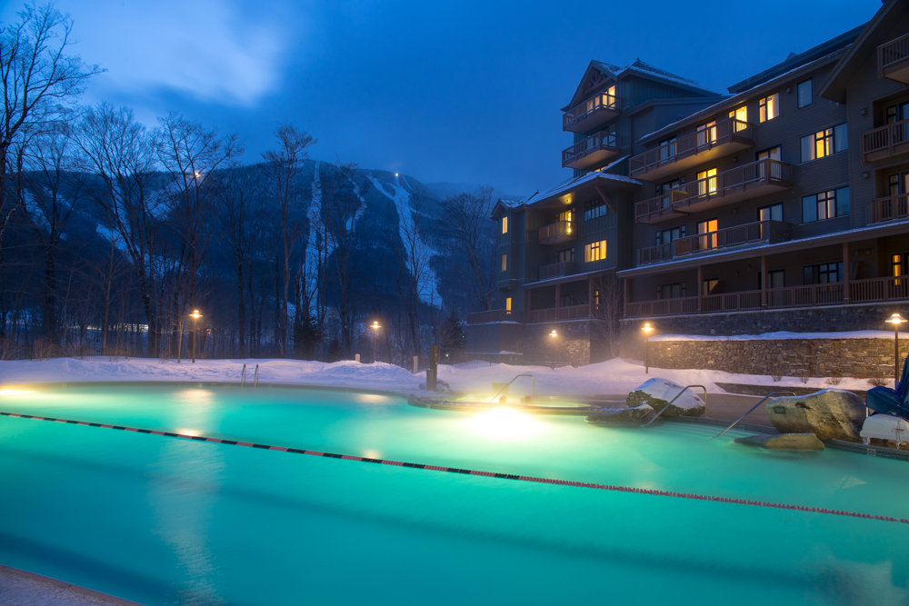 A tempting scene after a long day of skiing. - ©Liam Doran
