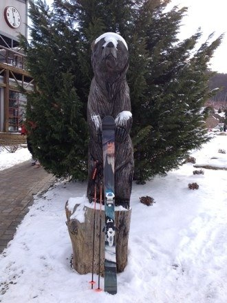Thank you Bear Creek for 2014 ski memories! But what are we going to do when the snows all gone??? Until we meet again old friend.