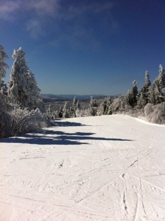 Buttery soft and carvalicious conditions today. No April fools here