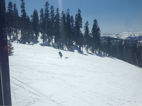 Another day of great spring skiing