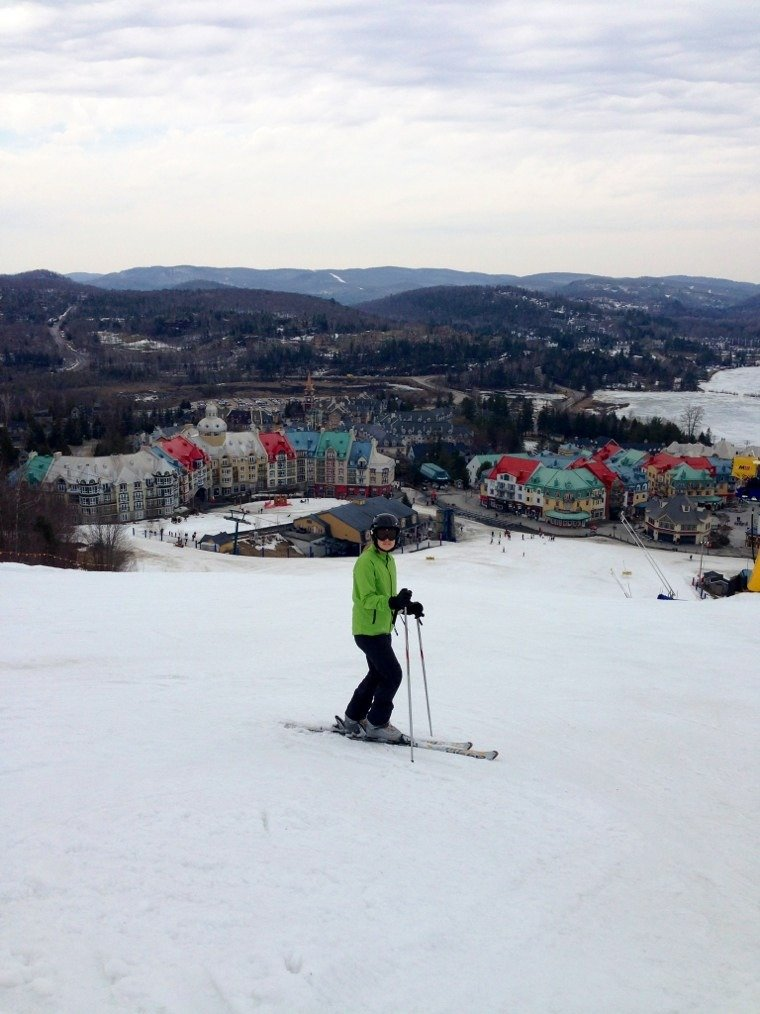 Just spent 5 days at Tremblant. Amazing conditions for this time of year. Great skiing top to bottom and a fantastic job done by the groomers.