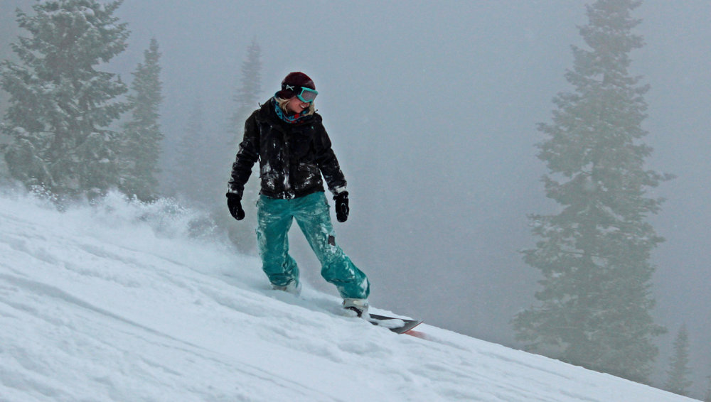 Powder at Brundage brings out the smiles. - ©Brundage Mountain Resort
