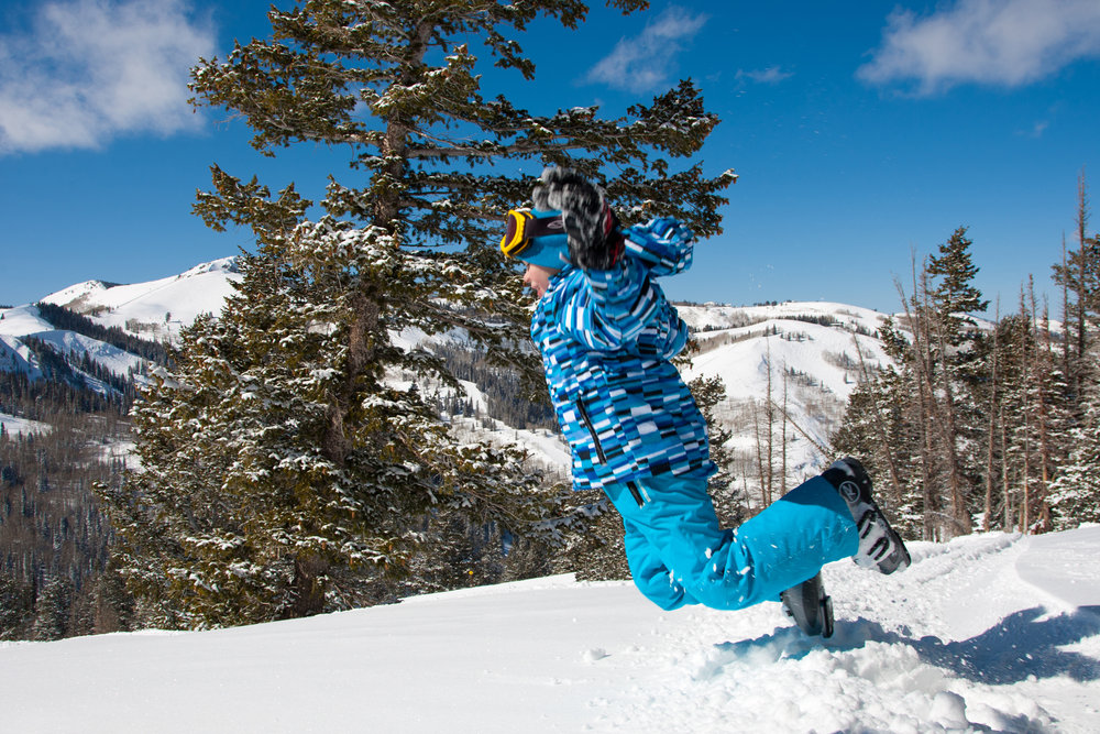 Frontside snow angel or face plant? - ©Deer Valley Resort