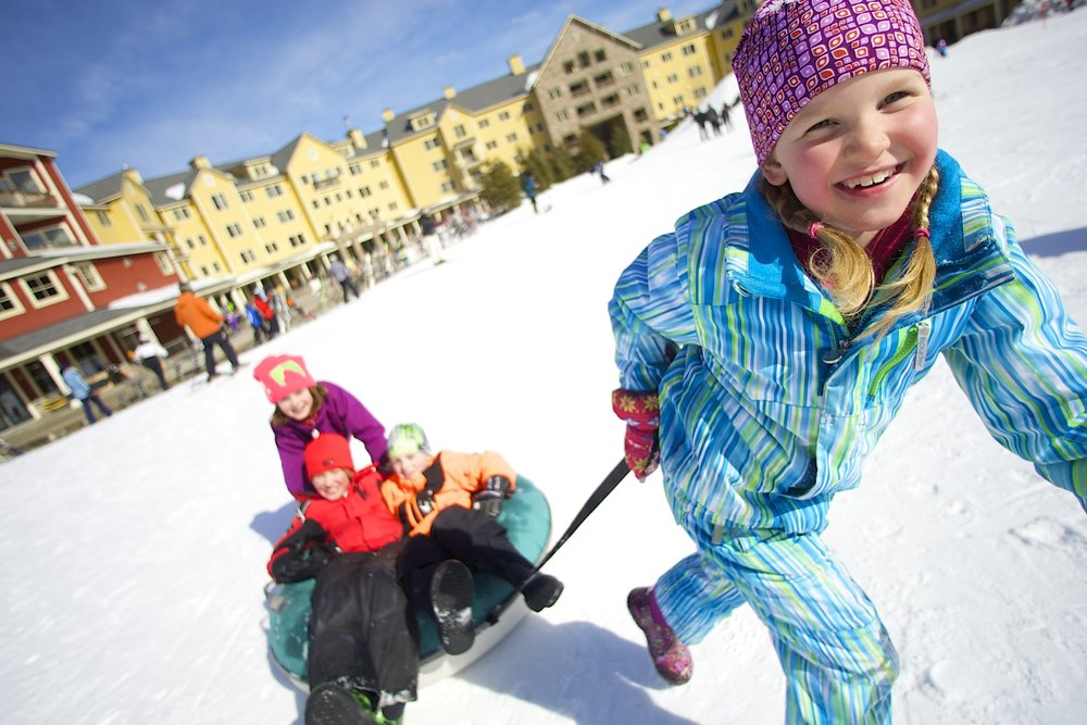 Okemo has uncovered the perfect formula for family-fun activities. - ©Okemo Mountain Resort