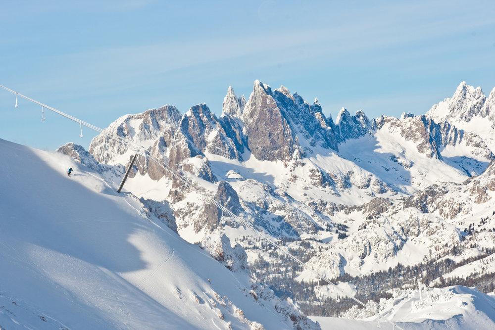 Mountain beauty, Mammoth.