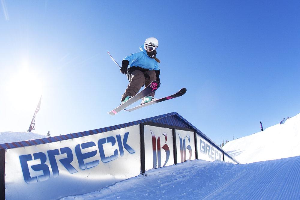 Park Lane on a Breckenridge bluebird day. - ©Breckenridge Ski Resort