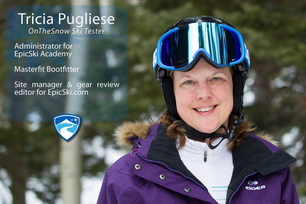 "Patricia (Tricia) Pugliese, 47. If you could ski with anyone (past, present or future) who would it be? ""I'd like to fill a quad chair with me, my husband, Jessica Sobolowski Quinn and Elyse Saugstad."""