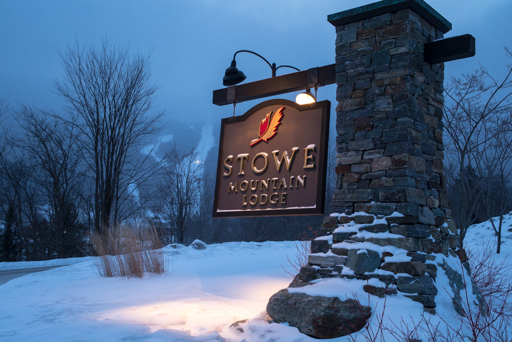 The scenic Stowe Mountain Lodge.