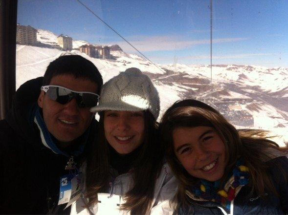 Teleférico fechado Valle Nevado