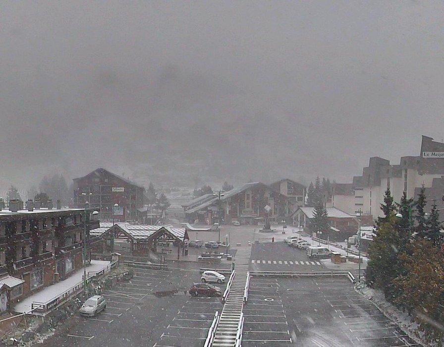 Neve fresca a Les 2 Alpes, 22 Ottobre 2014