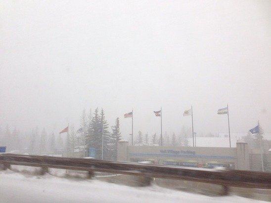 Dumping snow at Vail!! Hooray!