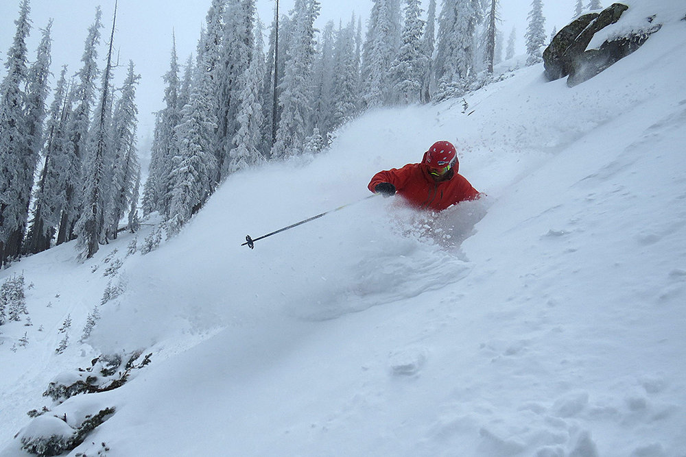 Mid-November snow brings epic conditions to Wolf Creek.  - ©Sven Brunso, Courtesy of Wolf Creek Ski Area