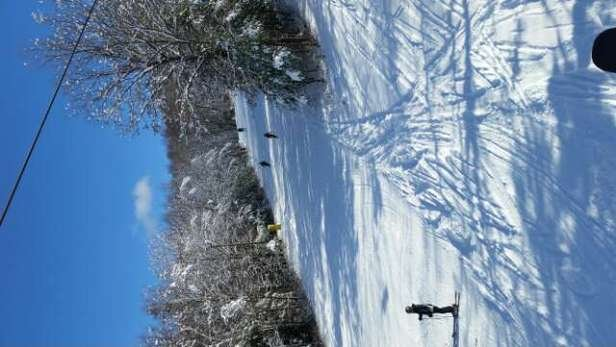 great skiing for Nov in CT !!