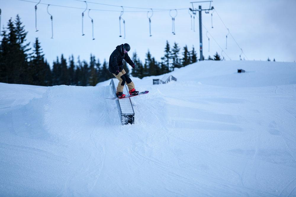 Hafjellparken er størst og best hittil i sesongen. - ©Roger Hjelmstadstuen