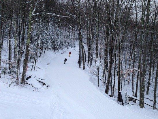 12/13/14.  Nice skiing.  No lines.