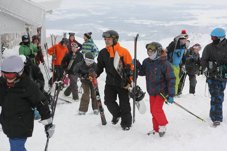 Cairngorm Mtn open for skiing Dec. 13, 2014 - ©Peter Jolly