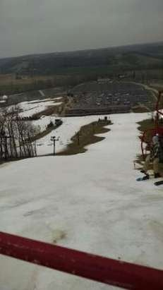 skied Sunday 12/14. no lines. it is great to grab some turns even if the snow coverage is not that good. keep it up PNS.