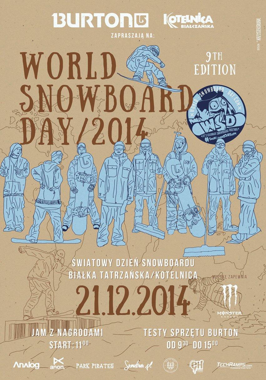 World Snowboard Day 2014 in Bialka Tatrzanska (PL) - ©ON Kotelnica Białczańska