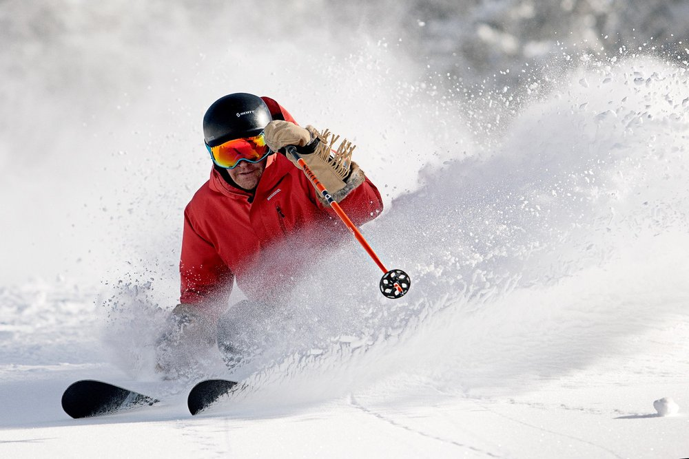 Making powdery waves at Vail. - ©Vail