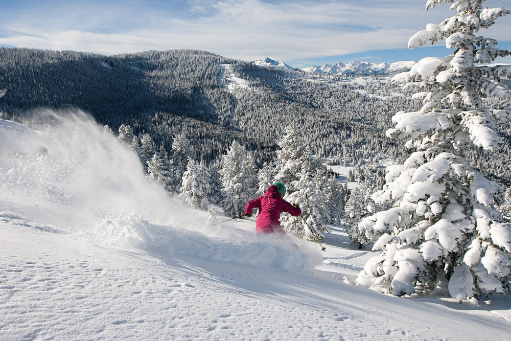 The panoramic views are almost as awesome as the snow. - ©Daniel Milchev / Vail