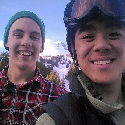 Had an awesome day at meadows with friends. :) the snow was pretty good, but there needs to be more of it.
