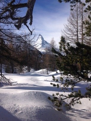 Not the best skiing conditions for beginner/ intermediate but very beautiful!