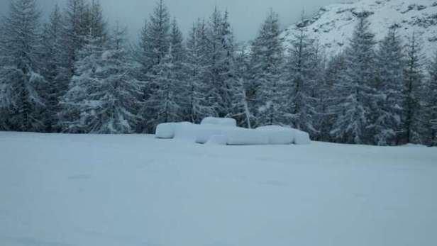 Tutti in pista finalmente è arrivata la neve