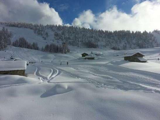 Spettacolo! Finalmente tanta tanta neve! Piste top!