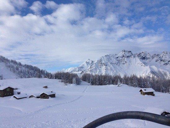 Finalmente la neve!!!! Giornata stupenda!!!