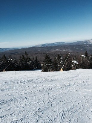 Weather was good today good skiing little icy