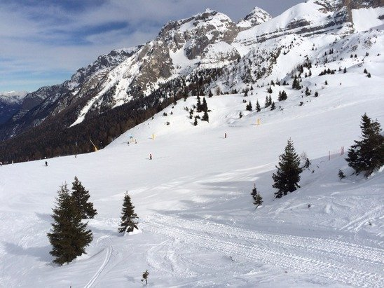 Great snow and no queues