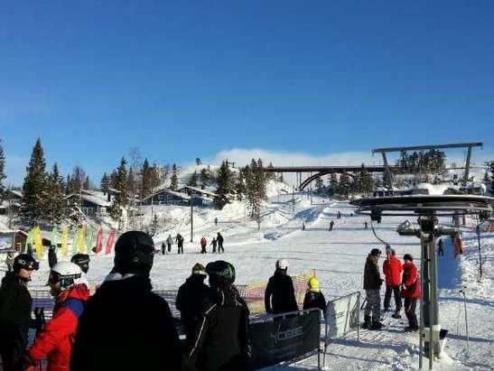 ski lodge branäs