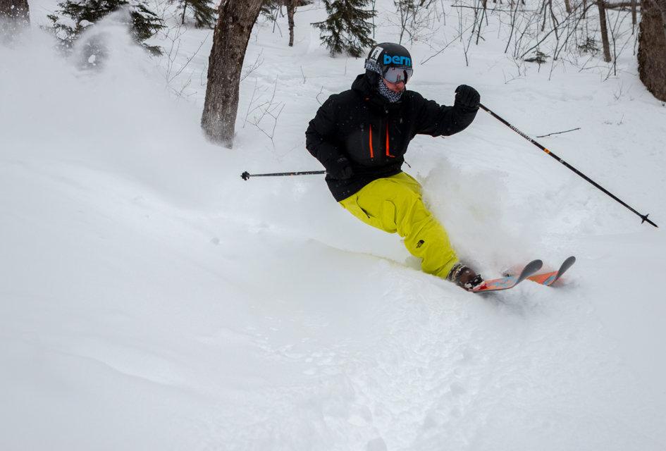 Powder skis necessary at Killington.  - ©P.J. McDaniel/Killington Resort