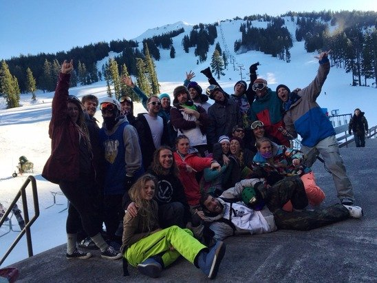 Bachelor was epic this past weekend! From the base all the way up to the summit conditions were pretty good. Park laps were epic and groomer runs were bomb! No complaints from this group called the Humboldt SnowJacks.
