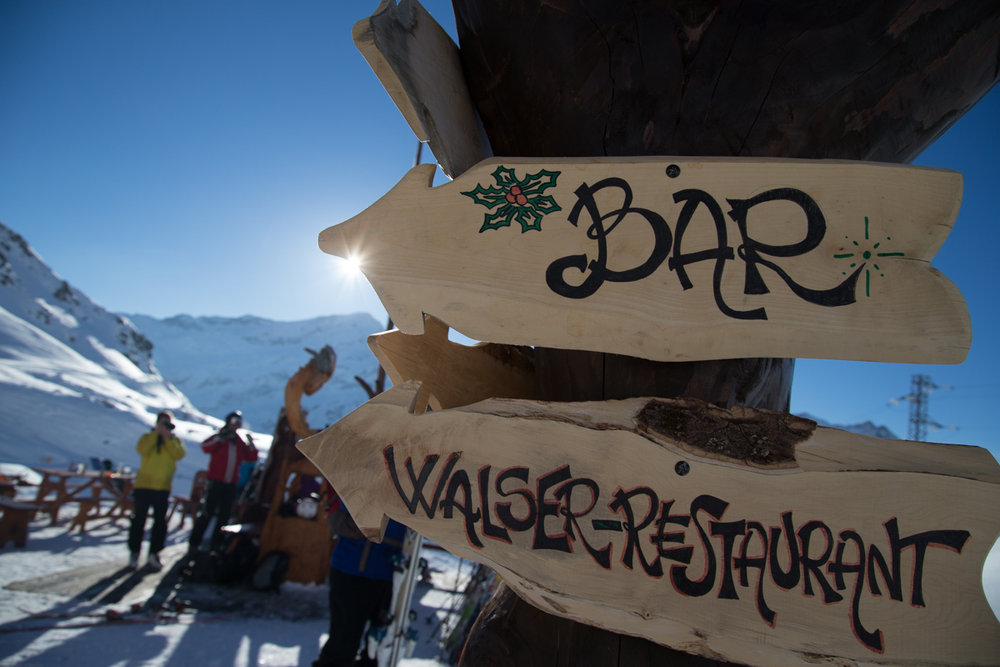 Plenty of amazing mid-mountain restaurants offer up coffee, strudel, beer... not to mention views! - ©Liam Doran/MSP