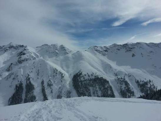 From 2/26. Best ski day of my life. Steep and deep. Great time. Heli drop was well worth it.