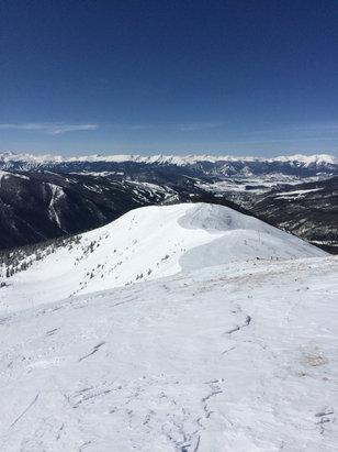 Arapahoe Basin Ski Area - Snow was off the chain! Fresh powder on the cornice. Montezuma bowl!