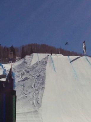 Vail - Burton championship catching air