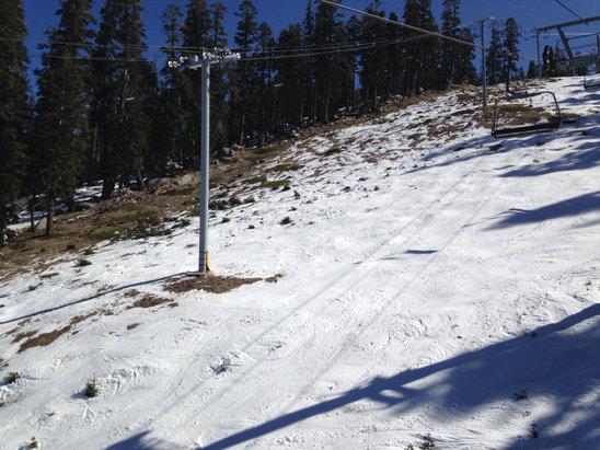 Sierra-at-Tahoe - Warm, blue skies, it's melting fast ... - ©anonymous user