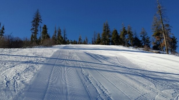 Bogus Basin - good on superior side early.