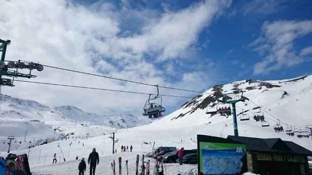 Fórmigal - it's snowing great conditions for Monday 22  March 2015 - ©clskellon