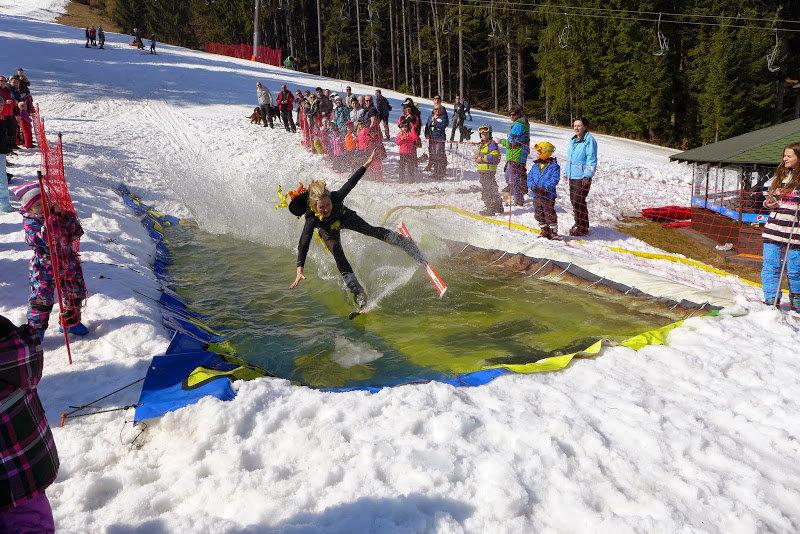 Waterslide happening in Ski Park Grun (CZ - ©Skipark Gruň