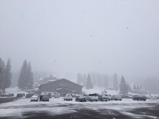 Brighton Resort - Great snow!!! - ©Konstantin's iPhone 5 S
