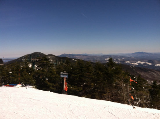 Sugarbush - BLUEBIRD DAY!!!!!!!!